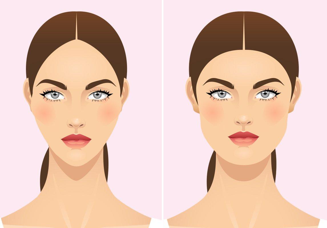 الفرق بين نحت وشد الوجه
